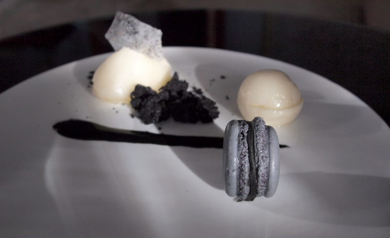 Liqurice and Litchi Dessert of Death