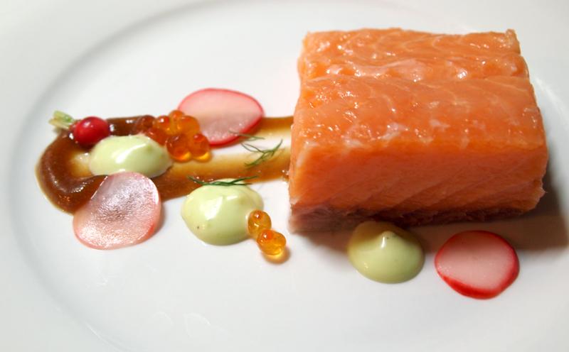 Salmon Mi Cuit