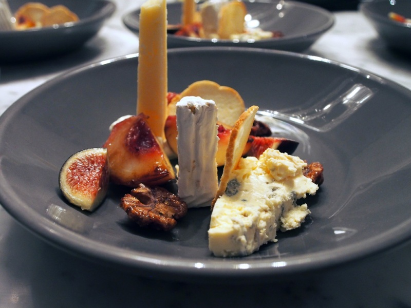 Composed Cheese Plate